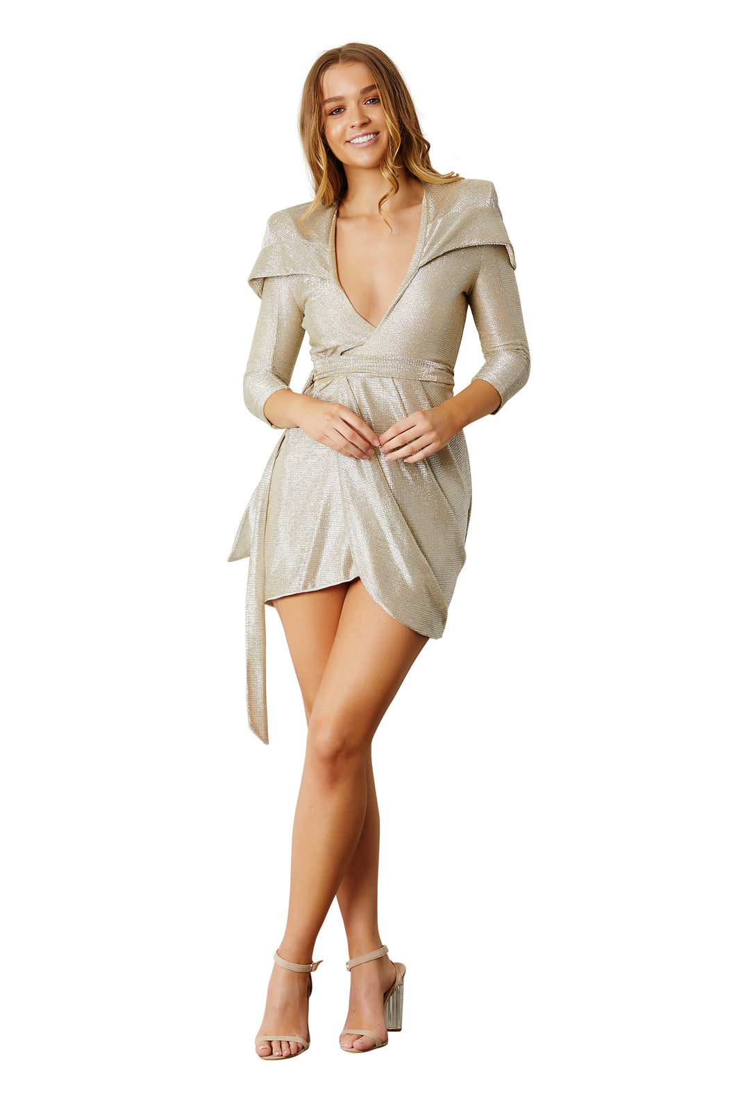 Goldie Hooded Dress