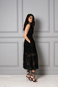 SABAYA Dahlia Dress | Black