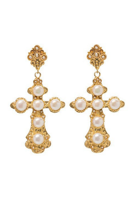 Jewellery on Hire in Australia - Nonia Pearl Earrings