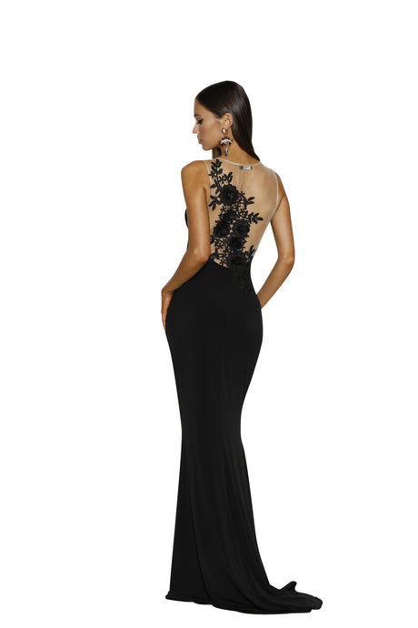Elevation Fitted Gown