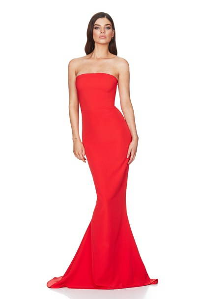 Angelina Gown - Red