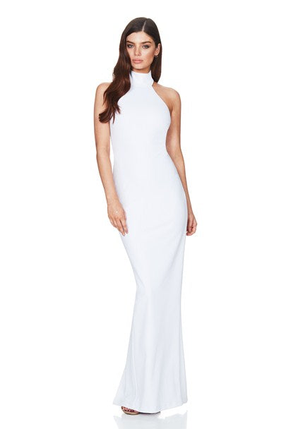 Basic Instinct Gown - White