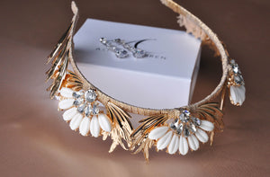 GOLD DELILAH CROWN