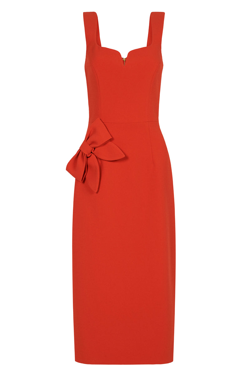 GALERIE BOW MIDI - Red