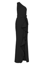Load image into Gallery viewer, GRETA TIER GOWN BLACK