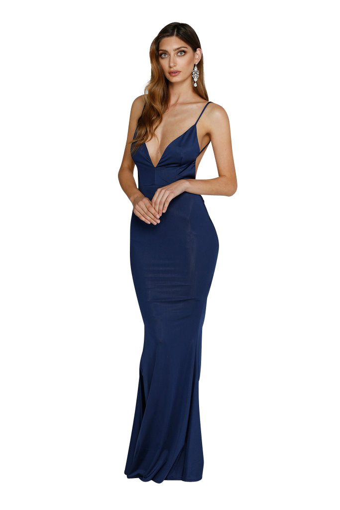 Penelope Gown - Navy