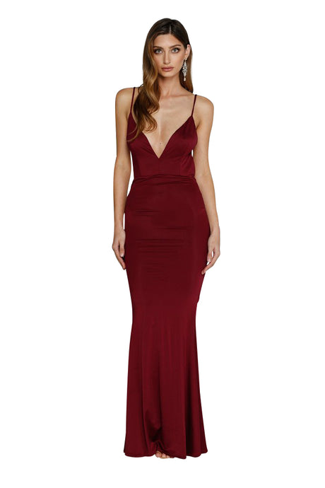 Penelope Gown - Wine