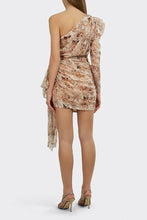 Load image into Gallery viewer, JAYLENE ONE SHOULDER FLORAL DRESS
