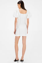Load image into Gallery viewer, KALINDY IVORY MINI DRESS Ivory