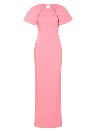 WINSLOW SHORT SLEEVE GOWN PINK