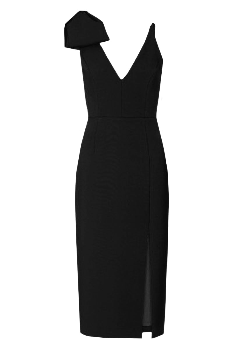 Love Bow Dress - Black