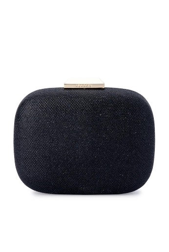 MISTY METALLIC ROUNDED CLUTCH