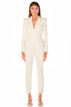Load image into Gallery viewer, DEBBIE PANTSUIT - Ivory