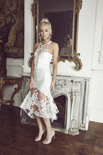 Load image into Gallery viewer, CHATEAU MIDI DRESS IVORY