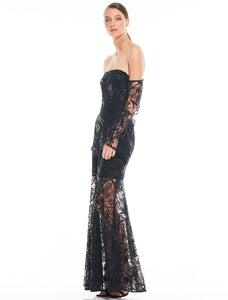 Silent Thoughts Gown
