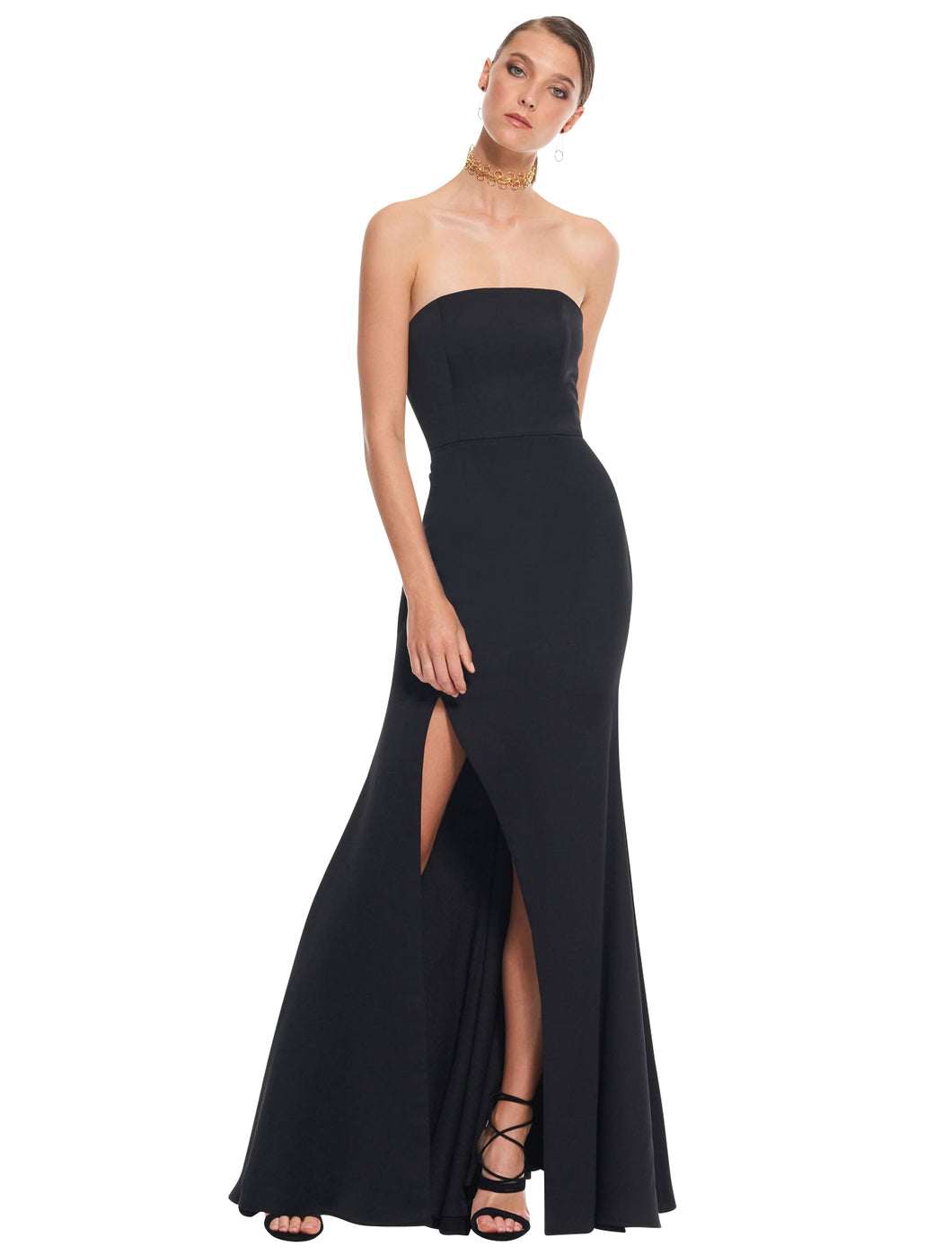 Bias Gown- front