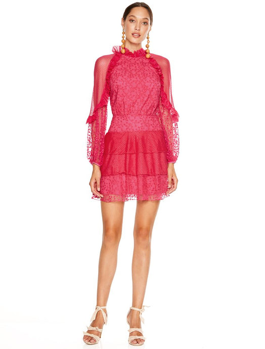 FUSCIA DELIGHT MINI DRESS
