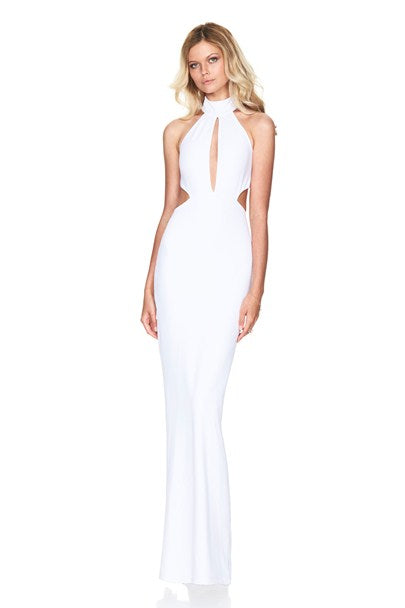 Wicked Games Gown - White