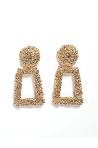 MACKENZIE GOLD EARRINGS