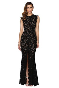 GRACE & HART Valentine Gown - BLACK