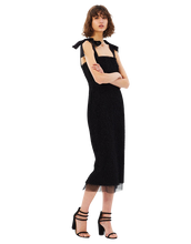 Load image into Gallery viewer, Martina Tie Shoulder Midi Dress