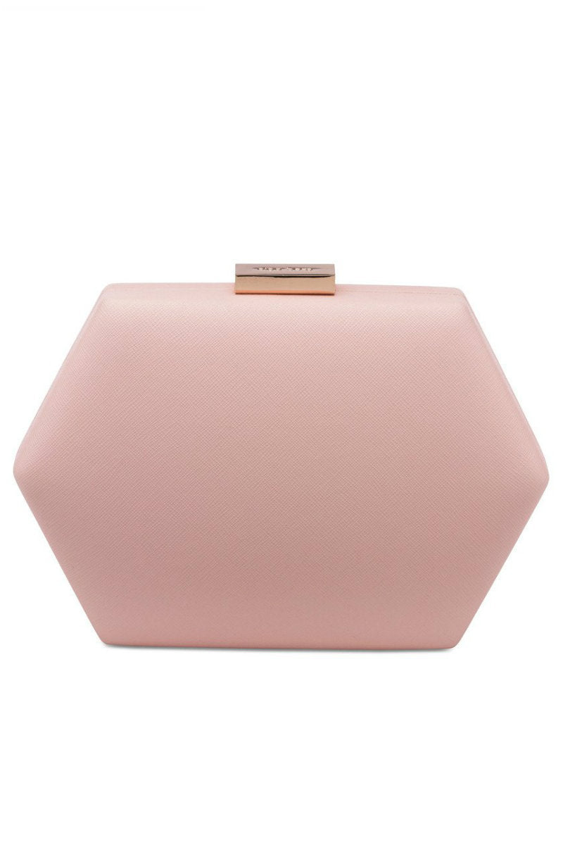 LOLITA ROUNDED HEX POD - PINK