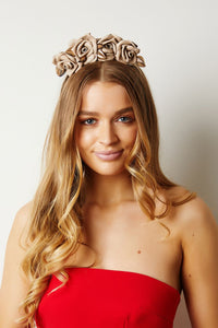 Nude Rose Headband