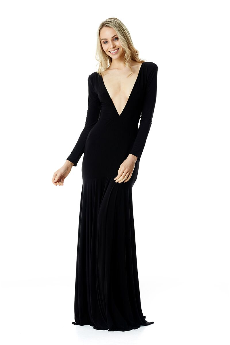 Louise Gown - Black