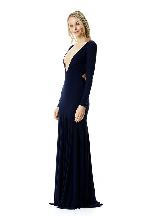 Louise Gown - Navy