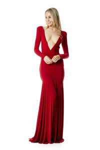 Louise Gown - Red