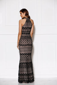 Turning Heads Gown - Black