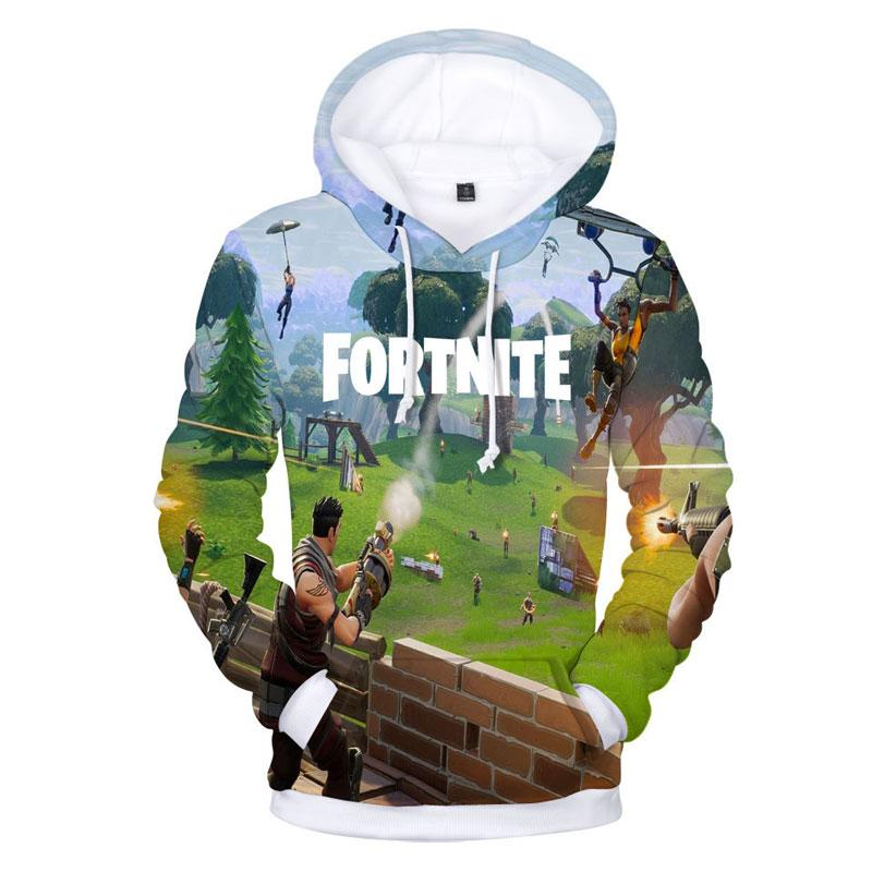 Fortnite 3d Unisex Youth Hoodie Pullover Sweatshirt Usahoo