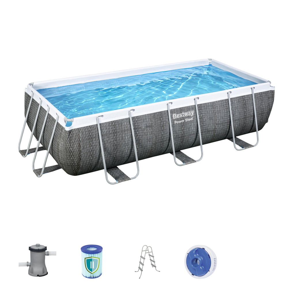 BESTWAY 4.04 x 2.01m Rectangular Pool