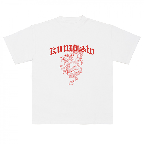 WHITE DRAGON TEE