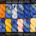 Hot Air Balloons - BFL Tweed Sock - Spring