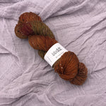 Whiskey Kiss - BFL Tweed Sock - Sophisticated Tonal