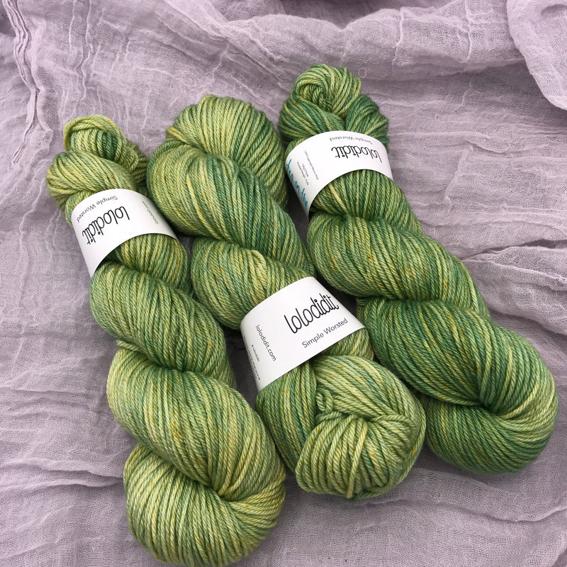 Tea On The Green - Simple Worsted - Tonal