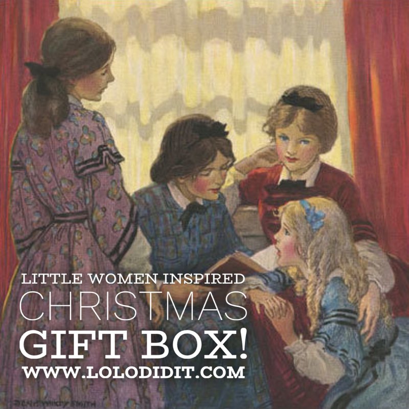Little Women Inspired Christmas Box! - ships Dec 14-18