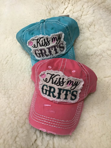 """Kiss My Grits"" Cap"
