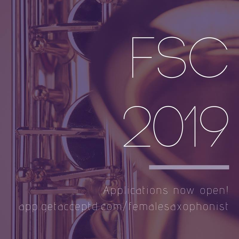 Female Saxophonist Competition 2019