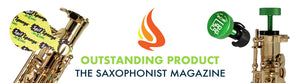 "GapCap wins ""Outstanding Product"" rating from The Saxophonist Magazine"