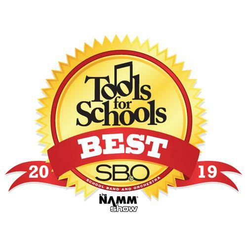 """Best Instrument Care Tool"" award from Tools For Schools, Best of 2019"