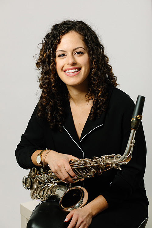 Alexa Tarantino is a flute and saxophone player who uses Key Leaves care products to prevent sticky pads on her flute and saxophone.