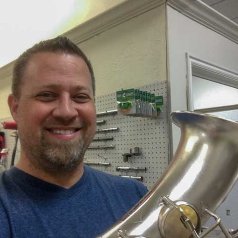 Saxophone Repair Tech Dan Hansen Recommends Key Leaves Sax Key Props