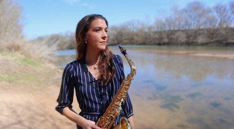 Jessica Voight-Page recommends Key Leaves sax care products to stop sticky sax pads