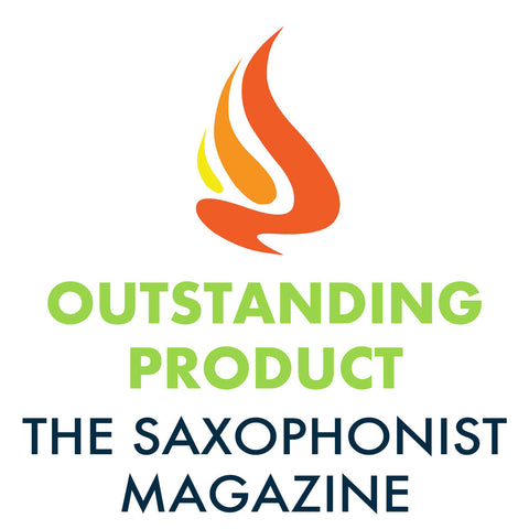 "The Saxophonist Magazine did a product review of Spit Sponge and gave it ""Outstanding Product"" status."