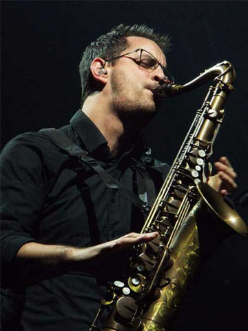 Saxophonist and Multi-Instrumentalist Ryan Saranich Uses Key Leaves Saxophone Key Props
