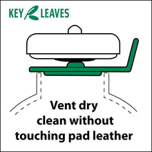 Key Leaves key props open sax pads to dry clean without touching delicate pad leather.