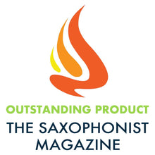 "The Saxophonist Magazine reviewed the Spit Sponge pad dryer and gave it ""Outstanding Product"" designation"
