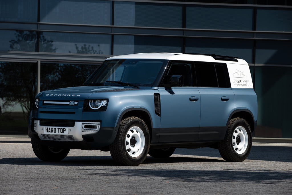 Land Rover Defender brings back Hard Top name for new commercial model